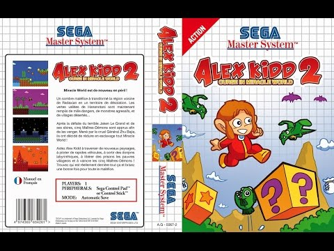 Alex Kidd in Miracle World 2