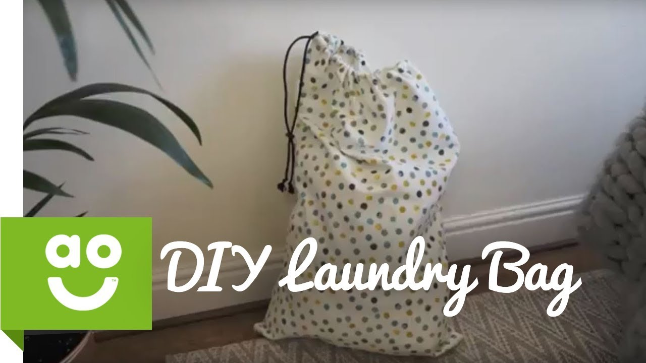 DIY Laundry Bag | ao.com - YouTube