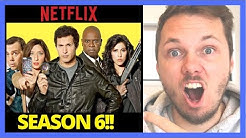 "How To Watch Brooklyn Nine-Nine ""SEASON 6"" on Netflix 😱"