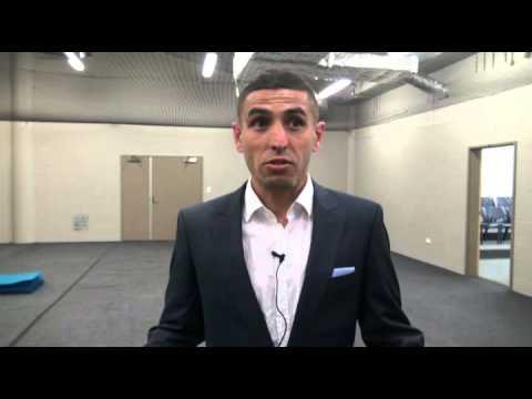 Ali Abbas Post Jets   Player Interviews   Sydney FC