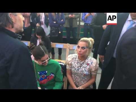 Lady Gaga, Fergie show for Gigi Hadid and Tommy Hilfiger's LA Fashion show