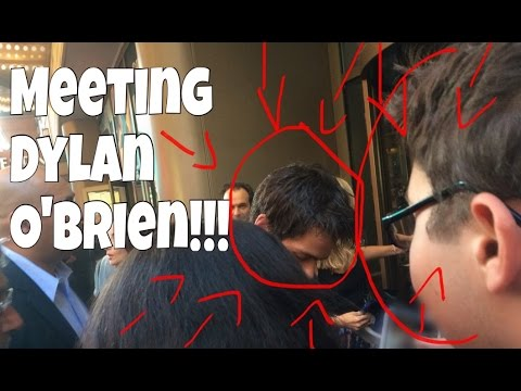 MEETING DYLAN O'BRIEN
