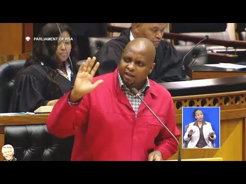 EFF Floyd Shivambu Warns The DA