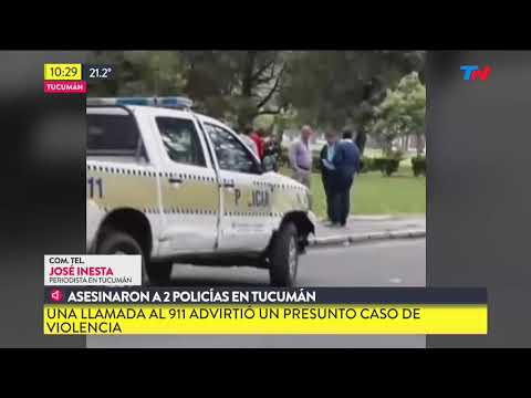 Asesinaro a dos policías en Tucumán