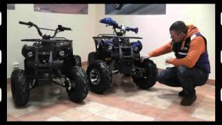 Видео обзор квадроцикла Comman ATV 125сс Hamer Lux