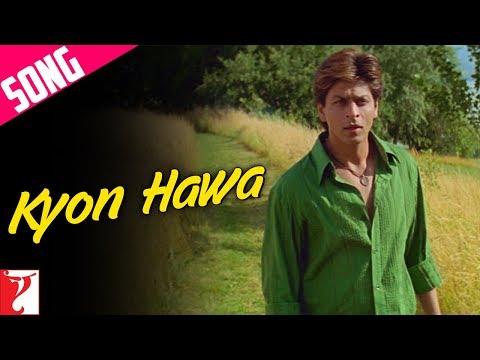 Kyon Hawa Song | Veer-Zaara | Shah Rukh Khan | Preity Zinta | Yash Chopra | Lata | Sonu