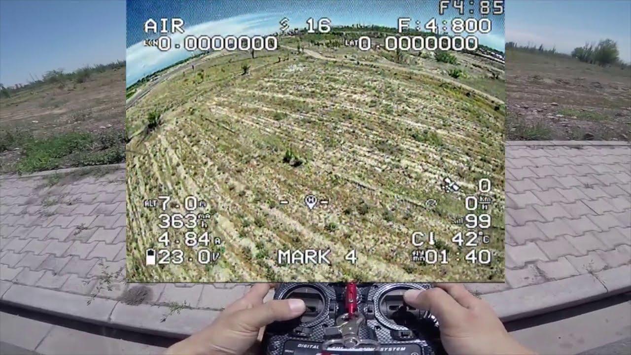 #fpv 凤凰2 化骨龙F722 户外飞行测试 一切安好 фото