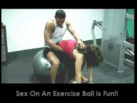 Phrase Your Sex position with exercise ball