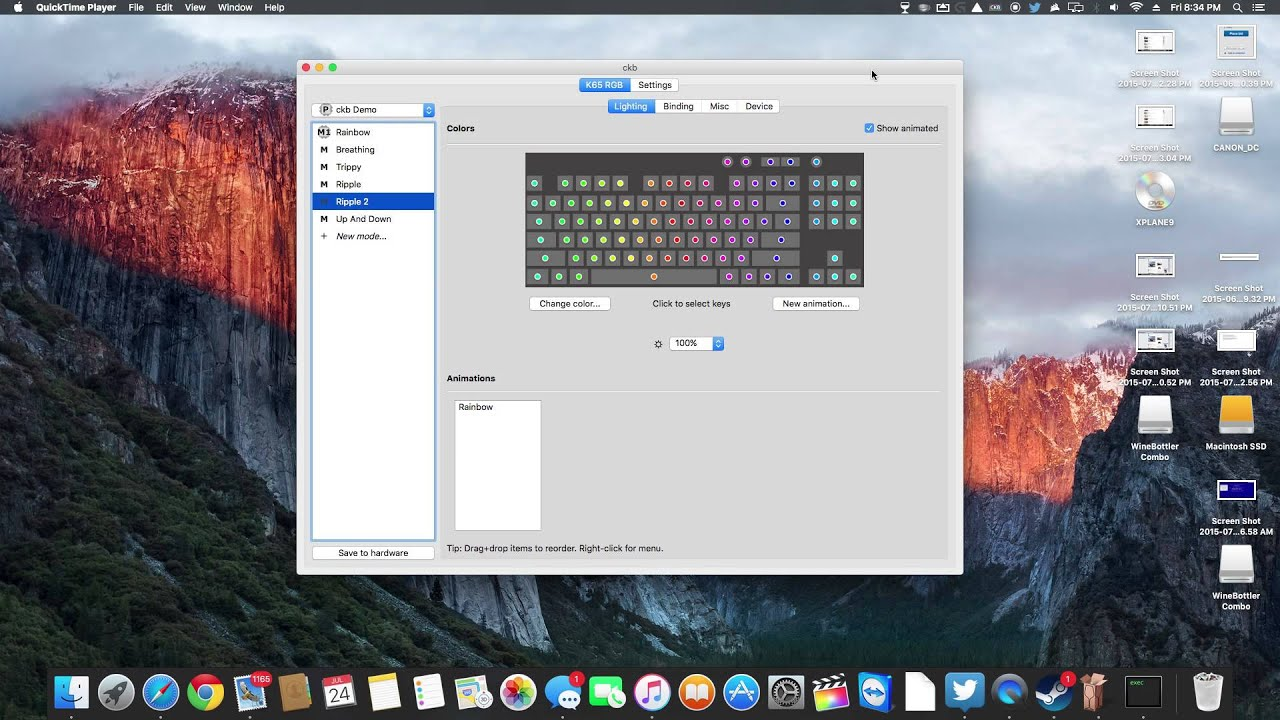 Corsair RGB Keyboard Software For Mac!