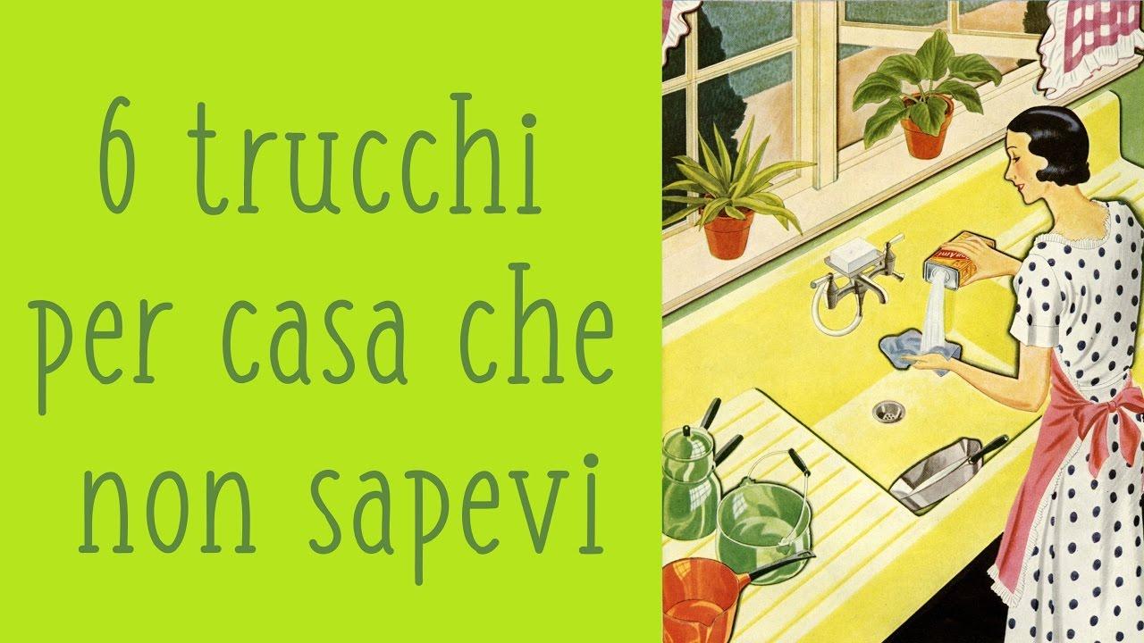 6 TRUCCHI GENIALI che non sai per CASA (life hacks ita) - YouTube