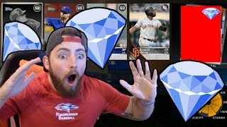 MY BEST PACK OPENING EVER! 99 OVERALL DIAMOND PULL! MLB The Show 16   Battle Royale