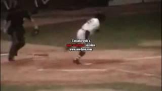 Batter Kicks Catcher