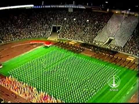 Закрытие Летних Олимпийских игр 1980, Москва, СССР