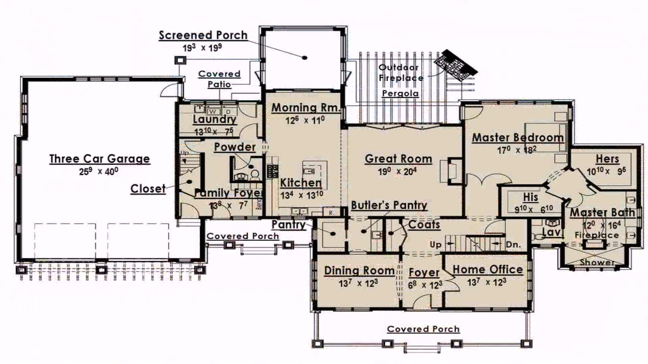 Single Level House Plans With Double Master Suites Gif Maker Daddygif Com See Description Youtube
