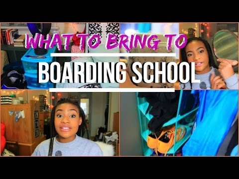 WHAT TO BRING TO BOARDING SCHOOL