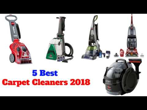5 Best Carpet Cleaners 2018