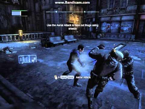 Batman Akham City - Nightwing Free-roam
