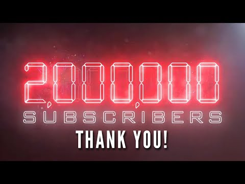 2 MILLION SUBSCRIBERS!