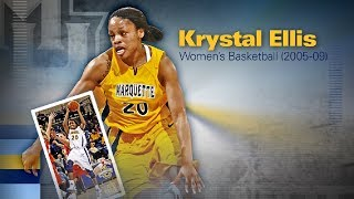 2018 Marquette M Club Hall of Fame - Krystal Ellis