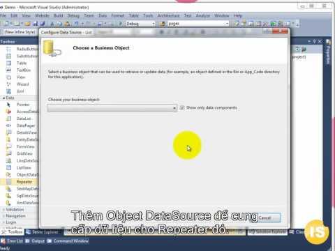 Học lập trình web: Xây dựng website với visual studio 2010 và asp.net (isjsc.com)