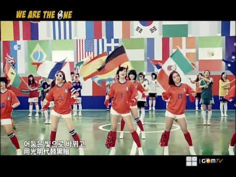 [SD 480p] T-ara - We Are The One (韓中字幕) MV