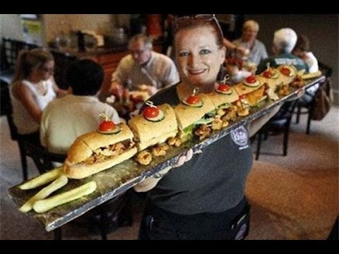 Man vs Food Style Kitchen Serving Food | Unfit For Human Consumption ...
