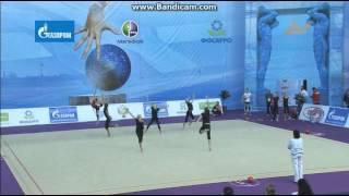 Групповые упражнения 10 булав. Тренировка(Данное видео принадлежит группе RUSSIAN TEAM DAILY . http://vk.com/club_team_of_russia., 2013-08-15T14:11:16.000Z)