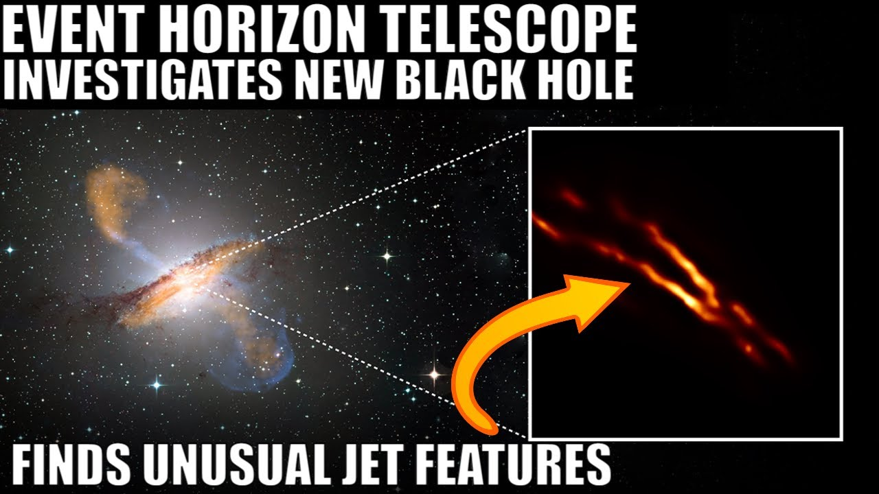 Detailed Picture of Another Black Hole Uncovers Unusual Jets - Centaurus A*