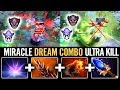 """WHAT DOES THE """"DREAM COMBO"""" LOOK LIKE?? - DOTA 2 MIRACLE LION"""