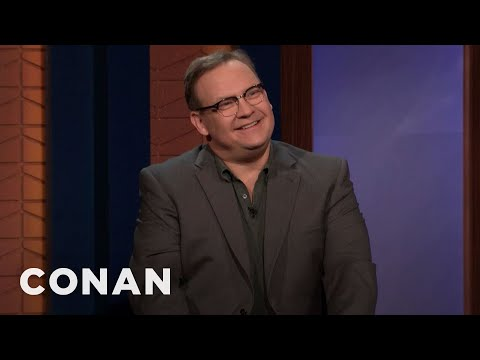 """Andy's New Podcast """"The Three Questions With Andy Richter"""" Is #1 - CONAN on TBS"""