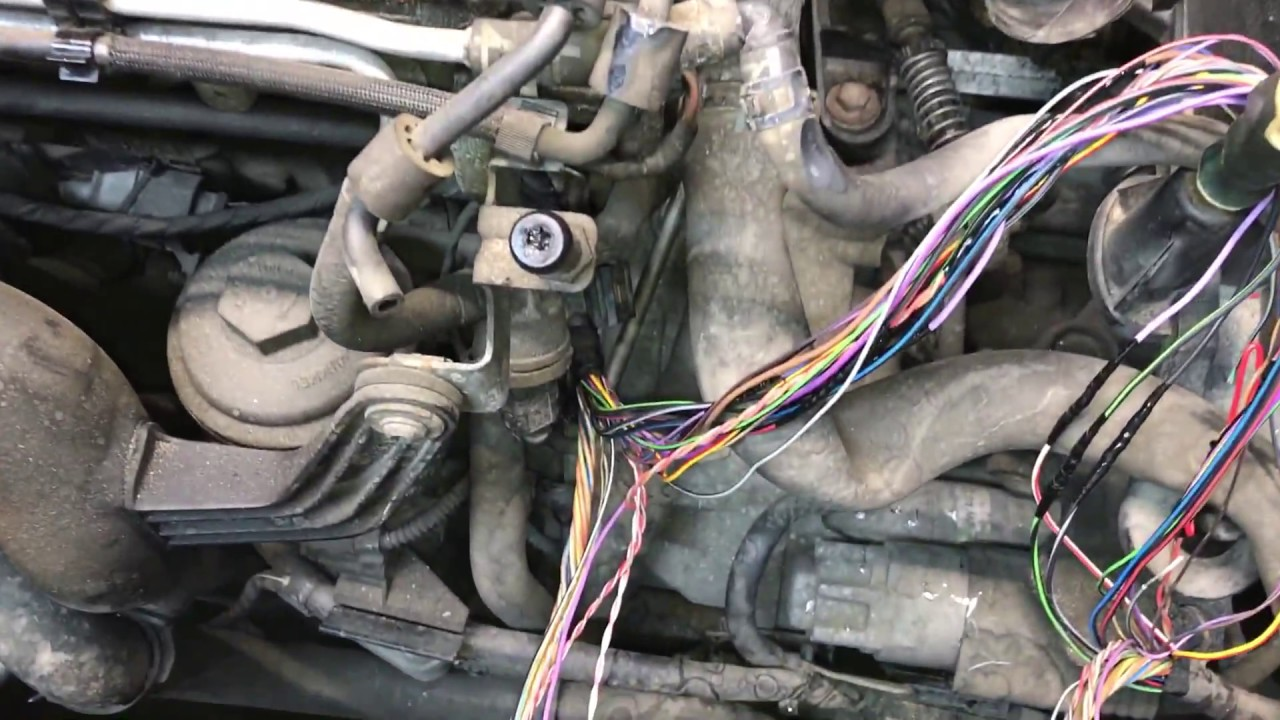 maxresdefault repair of wiring harness for motor bxe passat b6 youtube  at bakdesigns.co