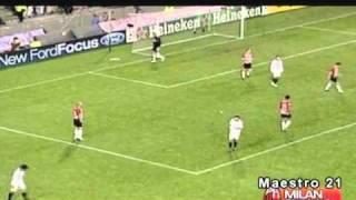 Highlights PSV Eindhoven 1-0 AC Milan - 1/11/2005