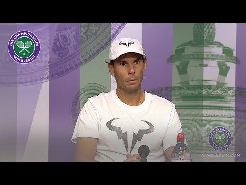 Rafael Nadal Semi-Final Press Conference Wimbledon 2019