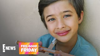 How a 6-Year-Old CEO Is Helping Others Amid COVID-19 | Feel Good Friday | E! News