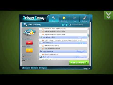 DriverEasy - Find and update drivers for your devices - Download Video Previews