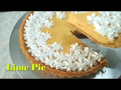 Lime Pie With Condensed Milk | An Easy Pie To Make At Home!