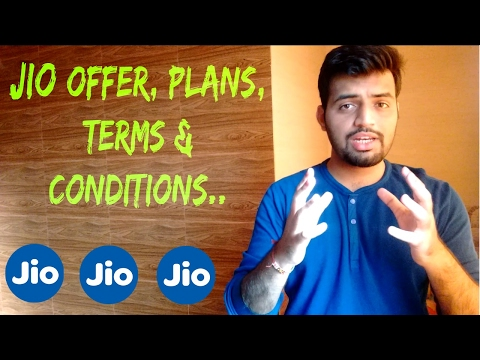 Jio 4g prepaid & postpaid new plans, terms&conditions | free calling , free SMS, Double wifi data :)