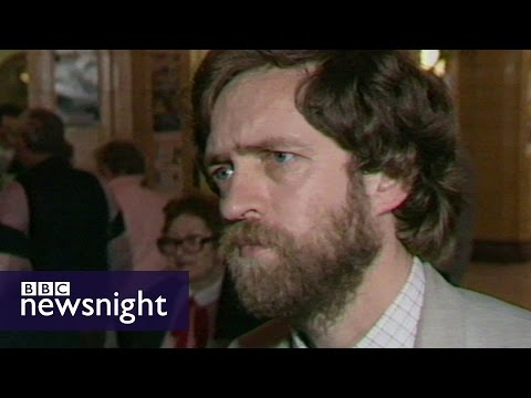 Jeremy Corbyn on the future of the left (1988) - Newsnight archives