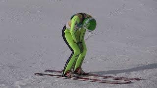 ❅ Spela ROGELJ 私待つわ状態から根性の一本目ロゲリ選手2015.1.11 FIS Ski Jump WorldCup Ladies Sapporo(JPN) ワールドカップ ジャンプ女子
