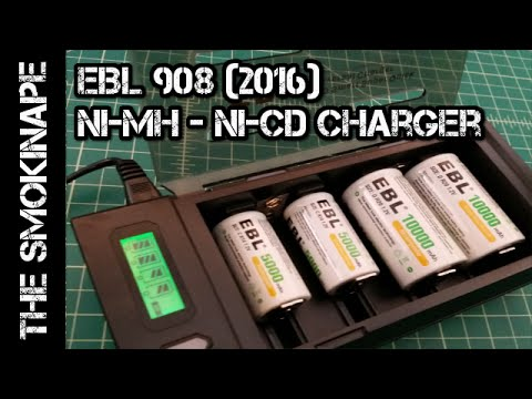 EBL 908 - 2016 Ni-MH Ni-CD Battery Charger - TheSmokinApe