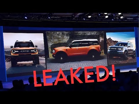 New  Ford Bronco LEAKED! Everything You Need to Know!