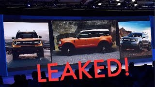 New 2020 Ford Bronco LEAKED! Everything You Need to Know!