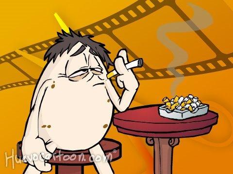 Huevocartoon Inédito: Campaña contra el Cigarro