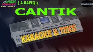 karaoke dangdut CANTIK A RAFIQ kybord KN2400/2600