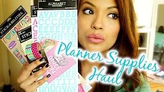 Hobby Lobby 50% Off Planner Supplies Haul | Ep. 3