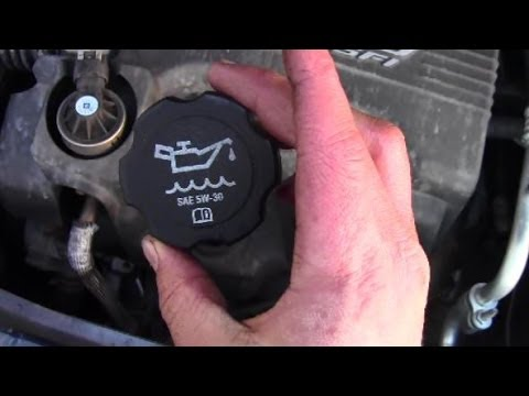 Changing Oil 2008 Chevy Equinox Youtube