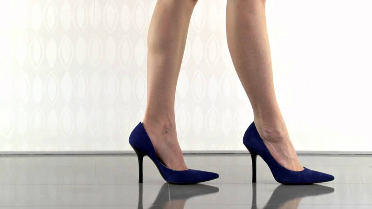 bdc4f3048c0d Carrie in Medium Blue Suede Guess Shoes - YouTube