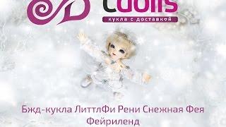 Обзор куклы бжд ЛиттлФи Рени Снежная Фея от Фейриленд. Часть 1