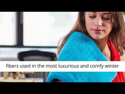 Heat Pad with Moist & Dry Heat Therapy Options - Hot Heated Pad