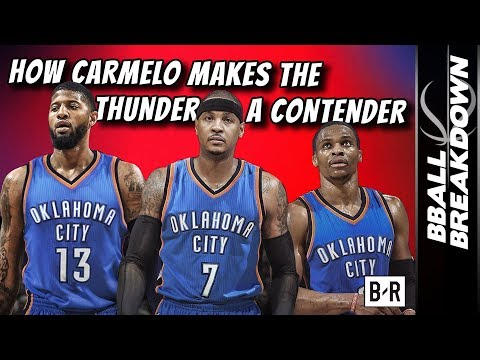 How CARMELO Makes The THUNDER A Contender